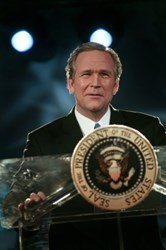 George W. Bush Impersonator John C. Morgan